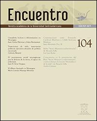 Ver Núm. 104 (2016)